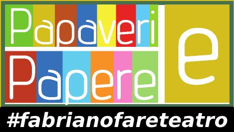 Logo Papaveri e Papere #fabrianofareteatro