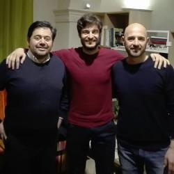 Stefano Stopponi Lino Guanciale Fabio Bernacconi