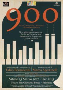 900 Recital Letterario da Novecento di A. Baricco