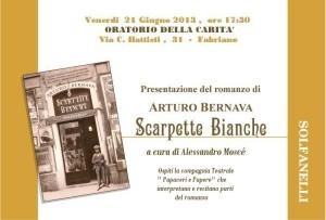 Scarpette Bianche Romanzo Arturo Bernava