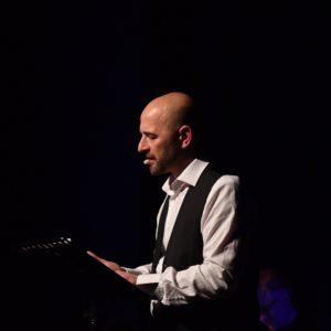 Fabio Bernacconi nel recital letterario 900