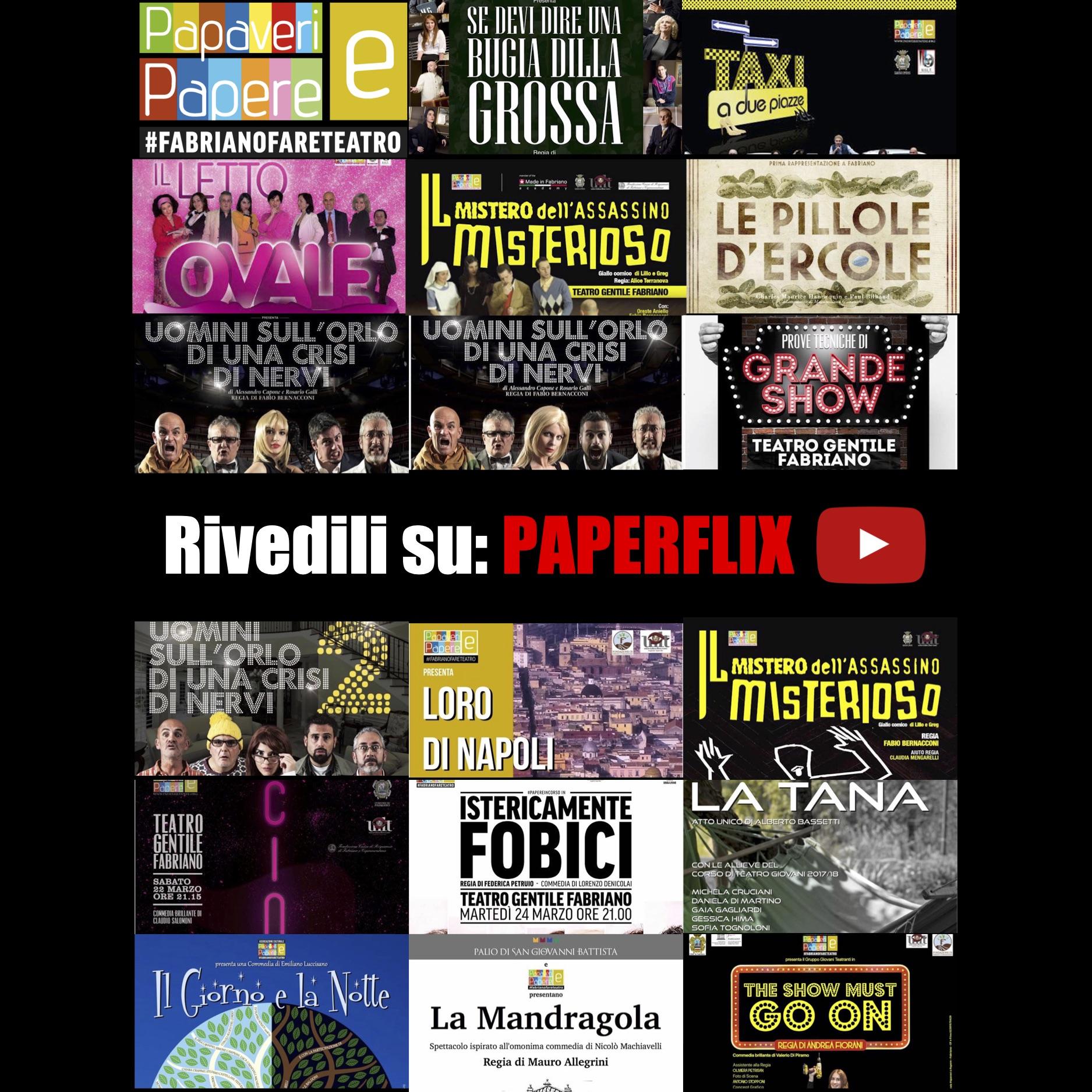 Paperflix il canale YouTube Papaveri e Papere