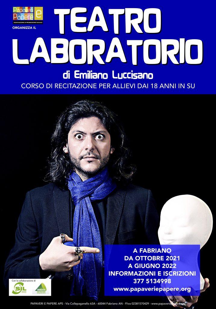 Teatro Laboratorio 2021-22 Emiliano Luccisano